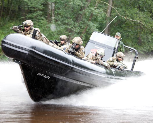 New Designed Blue Spirit Military Rib